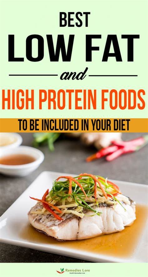 Best Low Fat And High Protein Foods To Be Included In Your