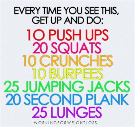 At home work out - trimhealth