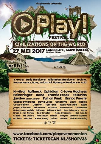 Play! Festival · Civilizations of the World - Tickets